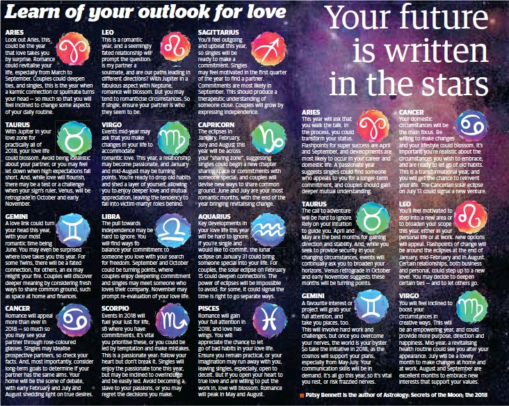 PressReader - Broome Advertiser: 2018-01-11 - Your horoscope