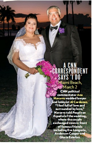Ana Navarro Wedding.Pressreader People Usa 2019 03 18 A Cnn Correspondent