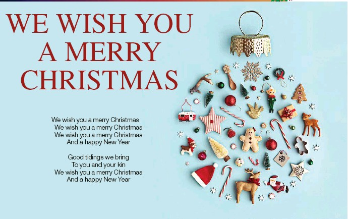 Merry Christmas To You.Pressreader The Chronicle 2018 11 30 We Wish You A