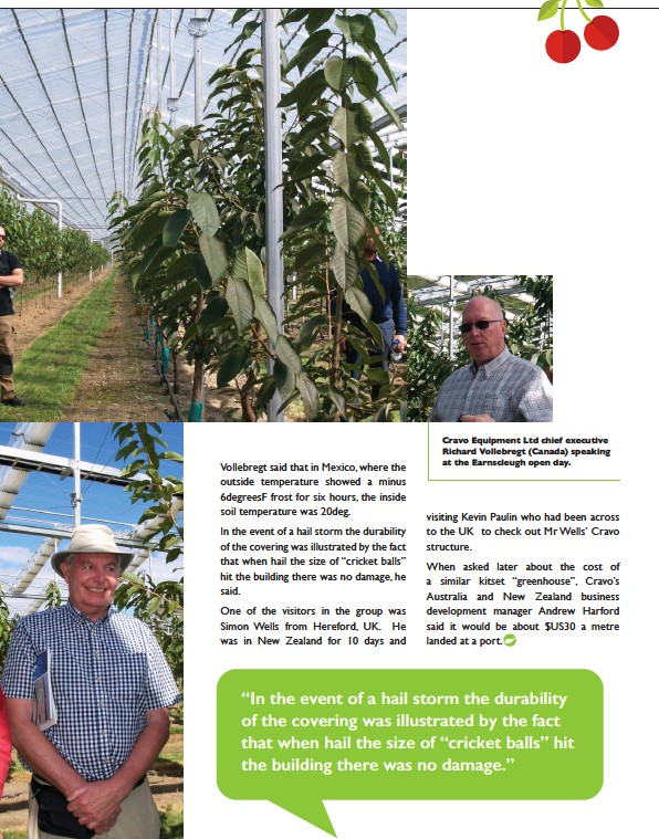 PressReader - The Orchardist: 2019-05-01 - Cherries with a