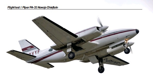PressReader - Pilot: 2019-03-01 - Piper PA-31 Navajo Chieftain