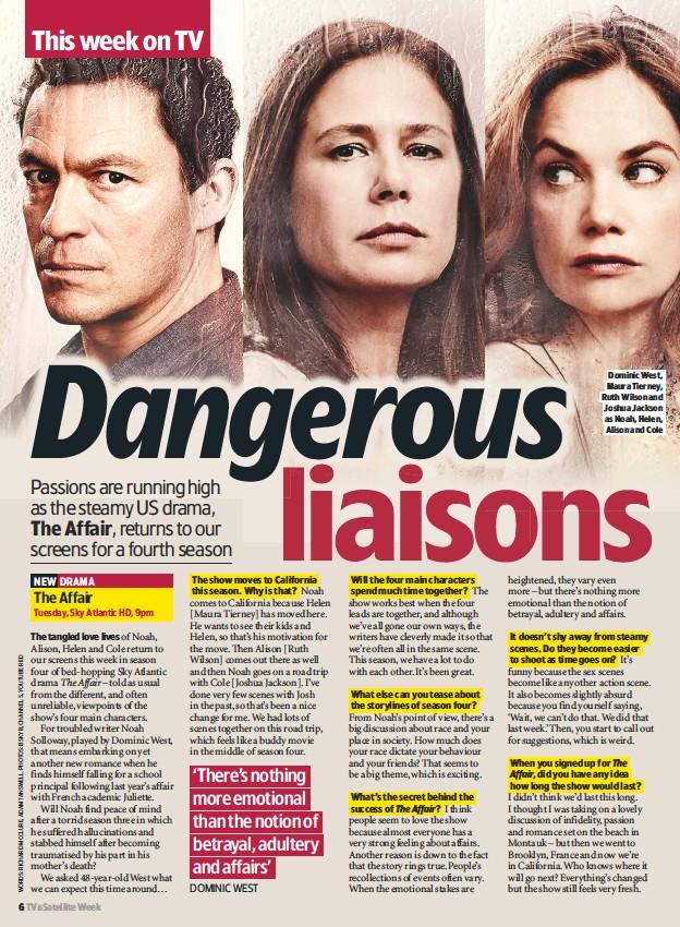 PressReader - TV & Satellite Week: 2018-06-23 - Dangerous LIAISONS