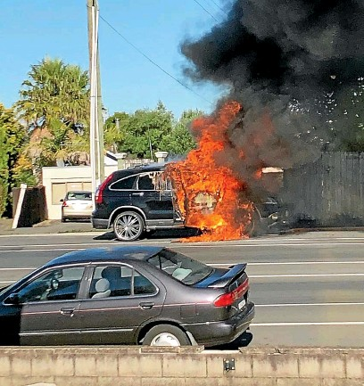 PressReader - The Press: 2019-05-11 - Why do cars catch fire?