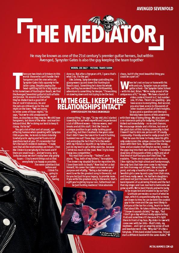 PressReader - Metal Hammer (UK): 2018-05-24 - THE MEDIATOR