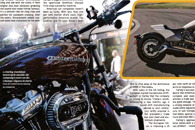 PressReader - New Straits Times: 2018-10-07 - HARLEY RIDING