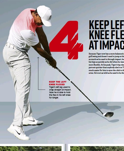 PressReader - Golf Australia: 2018-04-01 - KEEP LEFT KNEE