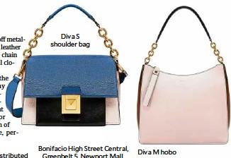 983df25f2a901 Diva S shoulder bag Bonifacio High Street Central, Greenbelt 5, Newport  Mall, Rustan's Makati, and ShangriLa Plaza. Diva Mhobo