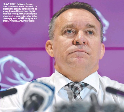 PressReader - The Courier-Mail: 2019-02-21 - HELP PROBE OR PAY PENALTY