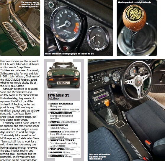 PressReader - Classics Monthly: 2014-03-27 - MGB GT Jubilee