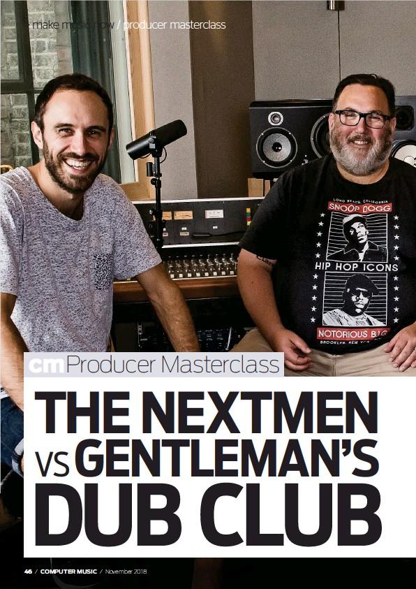 PressReader - Computer Music: 2018-10-03 - THE NEXTMEN VS