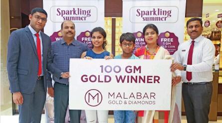 PressReader - Muscat Daily: 2019-06-16 - MALABAR GOLD RAFFLE DRAW WINNER