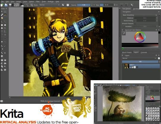 PressReader - ImagineFX: 2014-12-05 - Krita