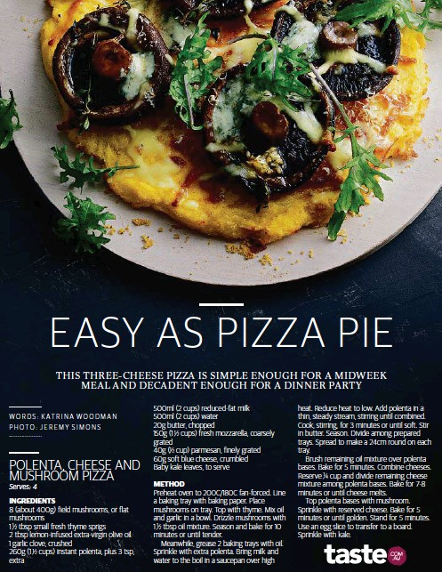 PressReader - NewsMail: 2019-07-13 - EASY AS PIZZA PIE