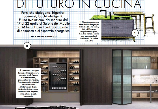 PressReader - La Cucina Italiana: 2018-04-01 - 19 IDEE DI FUTURO IN ...
