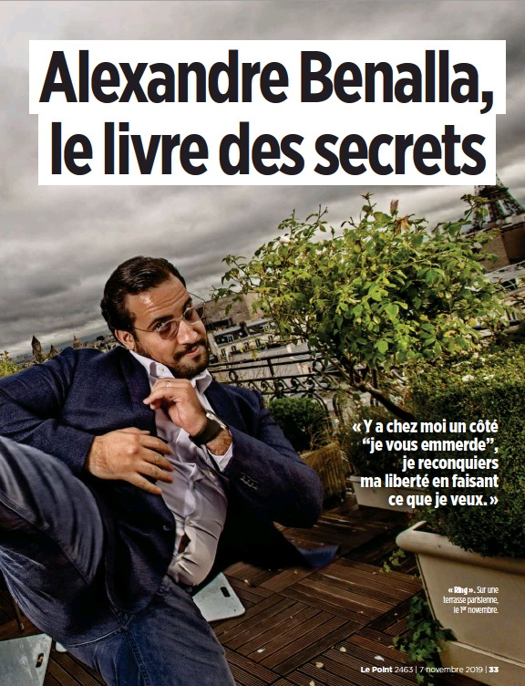 Pressreader Le Point 2019 11 07 Alexandre Benalla Le