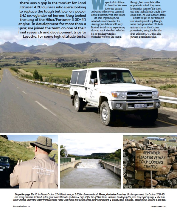 PressReader - Leisure Wheels (South Africa): 2018-06-01 - Testing