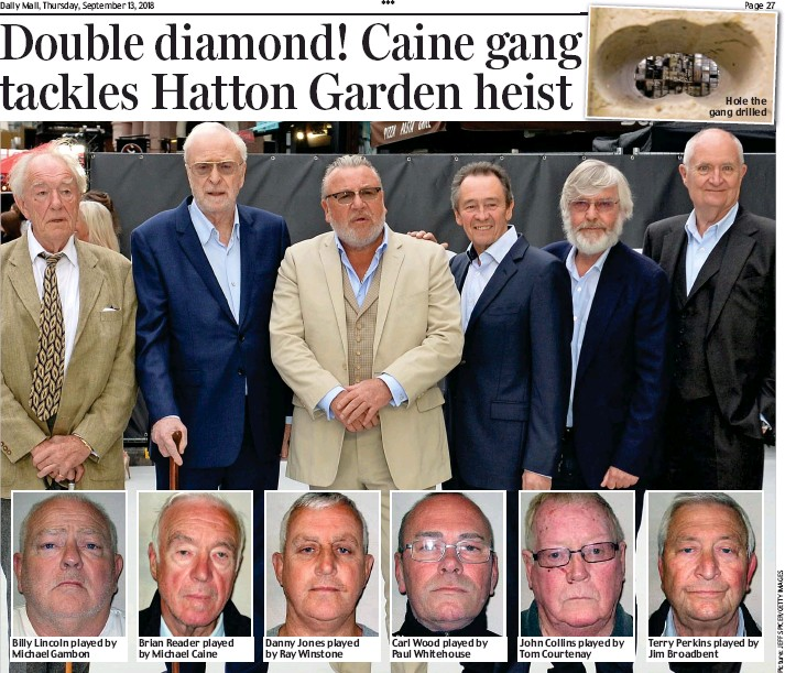 PressReader - Daily Mail: 2018-09-13 - Double diamond! Caine