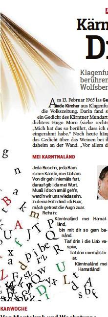 Pressreader Kleine Zeitung Kaernten 2017 04 10 Kärnten