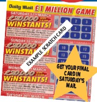 PressReader - Daily Mail: 2018-03-22 - HAVE YOU WON £20,000 TODAY
