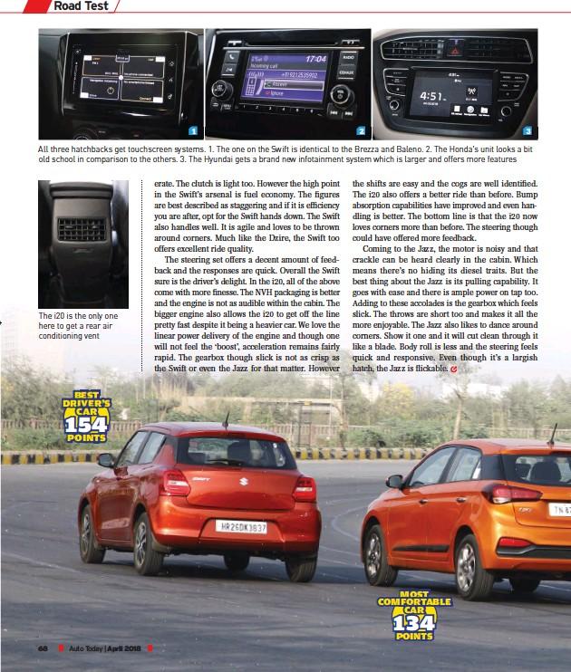 PressReader - Auto Today: 2018-04-01 - Maruti-Suzuki Swift