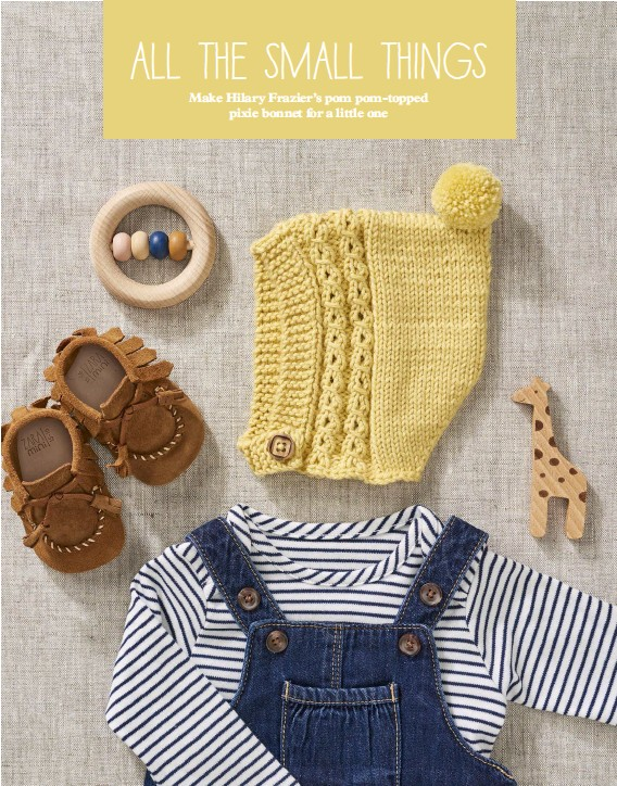 73fdfae49 PressReader - Mollie Makes: 2018-02-01 - BABY BONNET