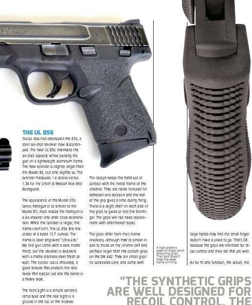 PressReader - Concealed Carry Hand Guns: 2018-11-01 - ONE UP REVOLVER