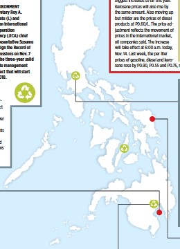 PressReader - Business World: 2017-11-14 - DENR, JICA to train LGUs