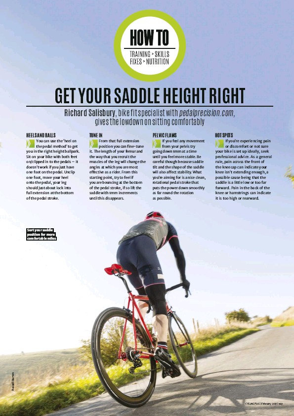 PressReader - Cycling Plus: 2017-01-04 - HOW TO