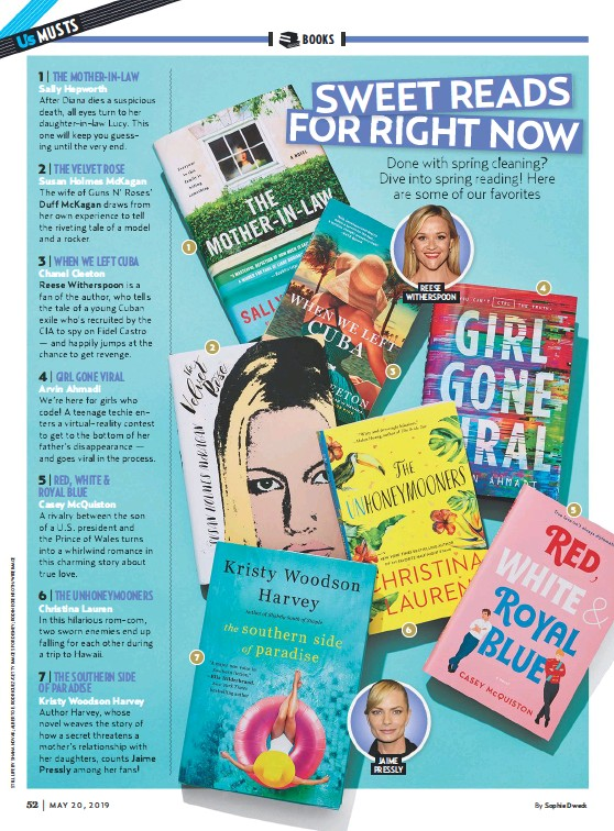 PressReader - US Weekly: 2019-05-20 - SWEET READS FOR RIGHT NOW