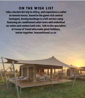 PressReader - NEXT (New Zealand): 2019-07-15 - ON THE WISH LIST