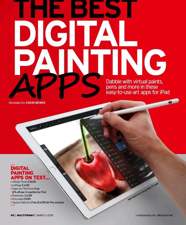 PressReader - Mac Format: 2018-02-13 - The best digital painting