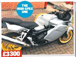 PressReader - Motorcycle News (UK): 2019-06-19 - BMW K1200S