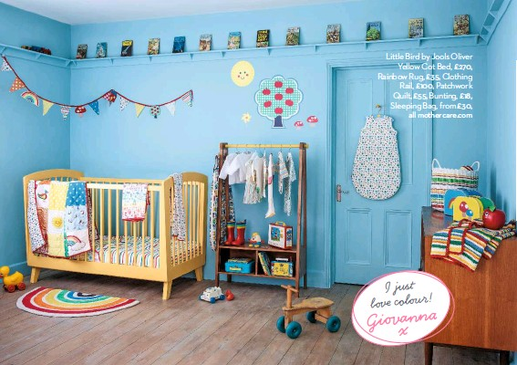 NEW Mothercare Little Bird by Jools oliver Bunting