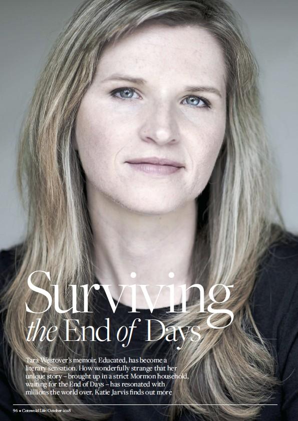PressReader - Cotswold Life: 2018-10-01 - Surviving the End of Days