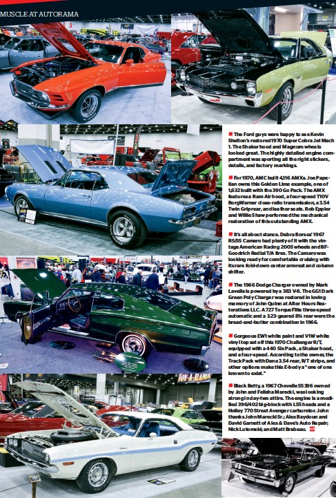 PressReader - Muscle Car Review: 2019-06-01 - MUSCLE AT AUTORAMA