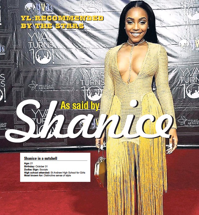 PressReader - Jamaica Gleaner: 2018-04-03 - Shanice As said by