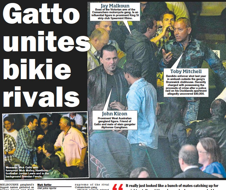 PressReader - Herald Sun: 2012-11-23 - GATTO'S BIKIE MATES