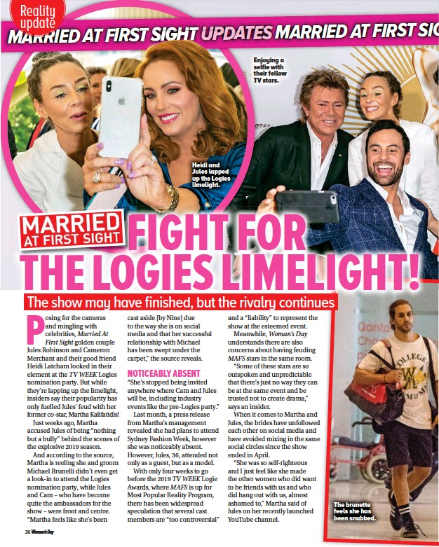PressReader - Woman's Day (Australia): 2019-06-03 - MAFS
