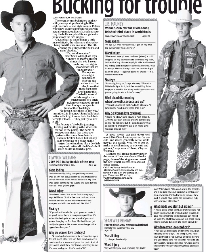 PressReader - New York Daily News: 2008-01-04 - Bucking for trouble