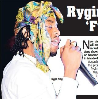 PressReader - The Star (Jamaica): 2018-09-21 - Rygin King to