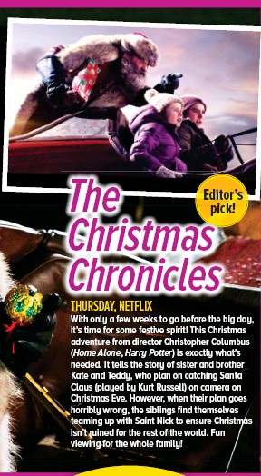 The Christmas Chronicles Poster.Pressreader Woman S Day Australia 2018 11 19 The