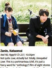 PressReader - The Star Malaysia - Star2: 2017-06-02 - Zenin, Kataomoi