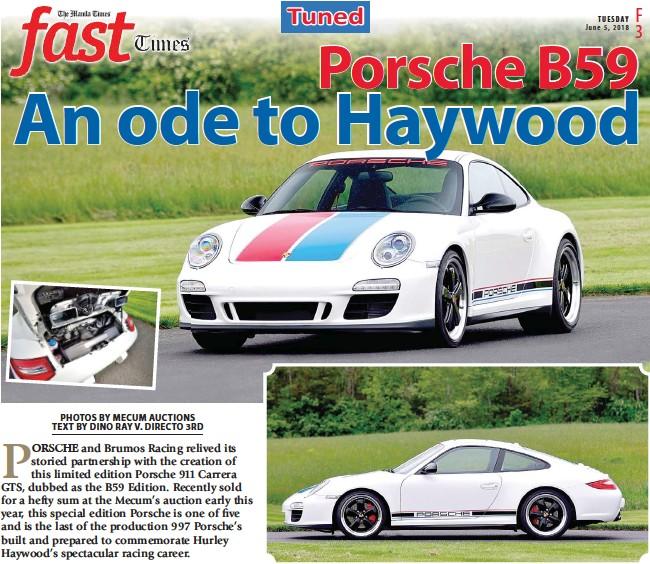 Pressreader The Manila Times 2018 06 05 Porsche B59 An