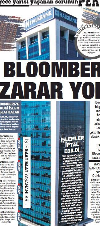 PressReader - Sabah: 2018-09-02 - Halkbank, Bloomberg mağduru