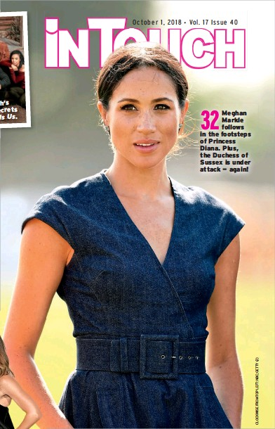PressReader - In Touch (USA): 2018-09-28 - Meghan Markle follows in