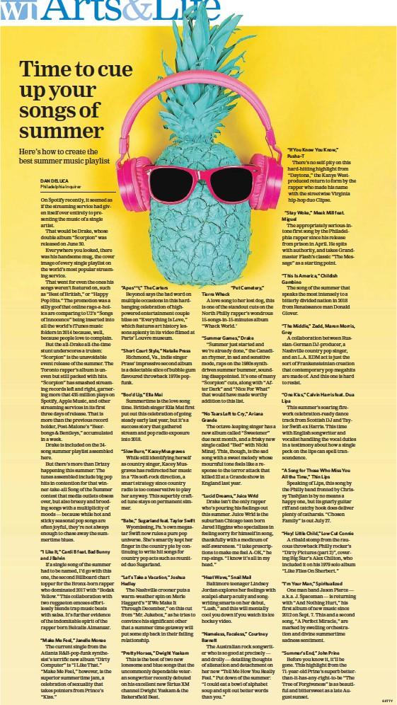 PressReader - The Welland Tribune: 2018-07-12 - Time to cue