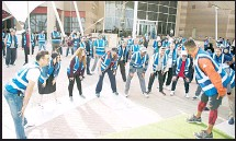 PressReader - Arab Times: 2018-02-20 - KIPIC organizes first walkathon