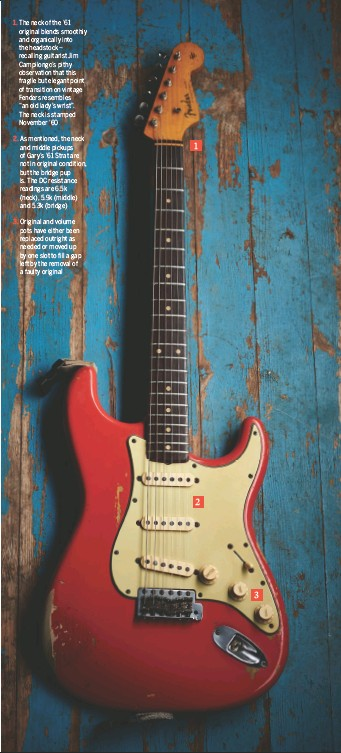 PressReader - Guitarist: 2016-12-16 - The Red STRAT