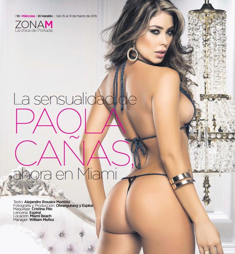 Pressreader Miercoles 2015 03 25 Paola Cañas Una Sexy