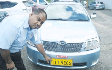 PressReader - Fiji Sun: 2018-04-28 - FAKE NUMBER PLATES LTA